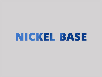 Hardfacing alloys with nickel base