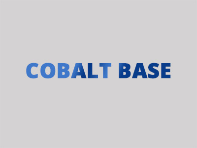 Hardfacing alloys with cobalt base